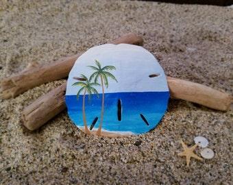 Seashore sand dollar ornament