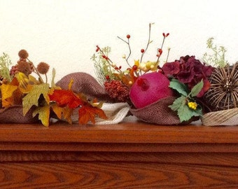 Natural Fall Garland