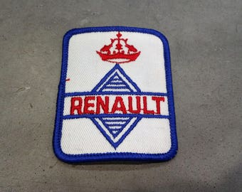 Free US Shipping / 1970's Vintage Renault Patch / French multinational automobile manufacturer / Groupe Renault cars trucks vans tanks