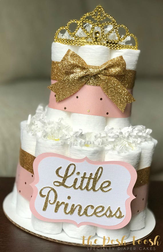 pink and gold baby shower cake pink and gold cake baby shower centerpiece baby 6554