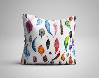Feathers Cushion.