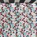 Multi Colored Triangle Fitted Crib Sheet. Baby Bedding. Crib Bedding. Colorful Crib Sheet