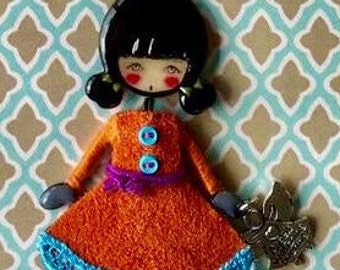 Hippy Happy Dolly Necklace