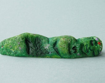 Small Te Fiti Moana polymer clay figurine
