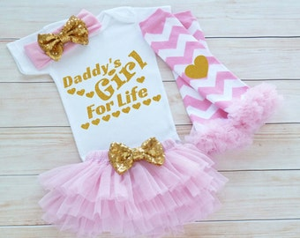 Baby Coming Home Outfit, Daddy's Girl Bodysuit, Daddy's Girl Take Home Shirt, Baby Girl Coming Home Outfit, Baby Shower Gift, Infant Outfit