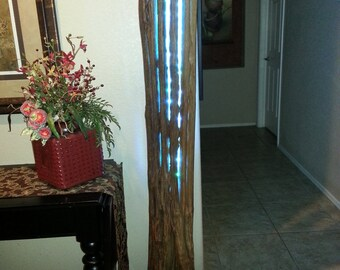 PRICE REDUCED! 68 in tall Saguaro skeleton with programmable LED light