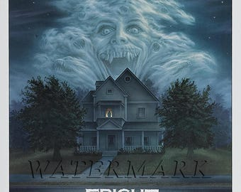Fright Night, Fright Night Movie Poster, Poster, Print, Horror - 12x18 - 24x36 (JS1266)