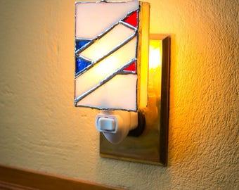 Frank Lloyd Wright Inspired Nightlight: Hollyhock