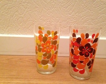 The 1970s water glasses