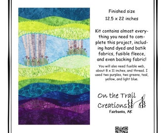 Serenity wall hanging quilt kit