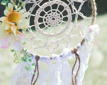 PDF Crochet Pattern Dreamy Dreamcatcher