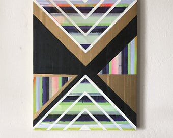 Prism, Original Oil Painting, Abstract Painting