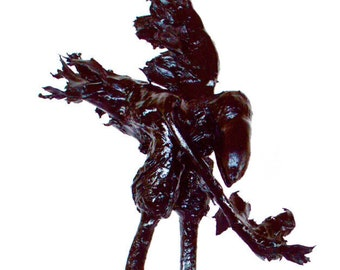 """Take a Bow Raven Sculpture 24"""""""