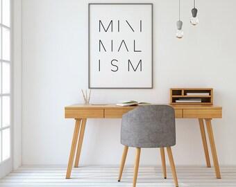 Minimalist poster, Printable Wall Art, typographic prints, modernist wall art, minimalist art, minimalist prints, abstract art, modern decor