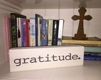 gratitude. sign