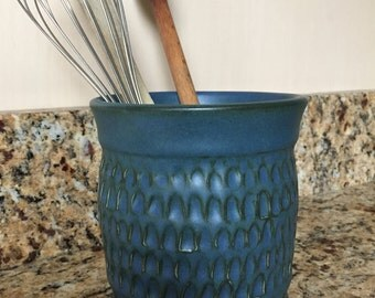 Kitchen Utensil Holder, Utensil Crock, Spoon Holder, Wine Chiller, Vase