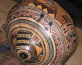 Vintage Peruvian Gourd