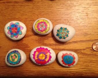Mandala Magnet Set