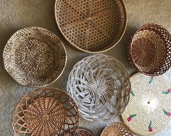 Wall basket collection