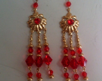 Red and Gold Shell Fun
