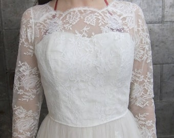 Gorgeous Vintage Ballerina length wedding dress