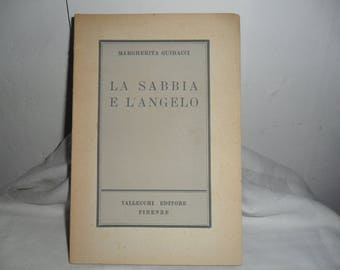 Book poems, first film of Margherita Guidacci. Vallecchi 26-10-1946-Florence, ancient book poems, first work Margherita Guidacci