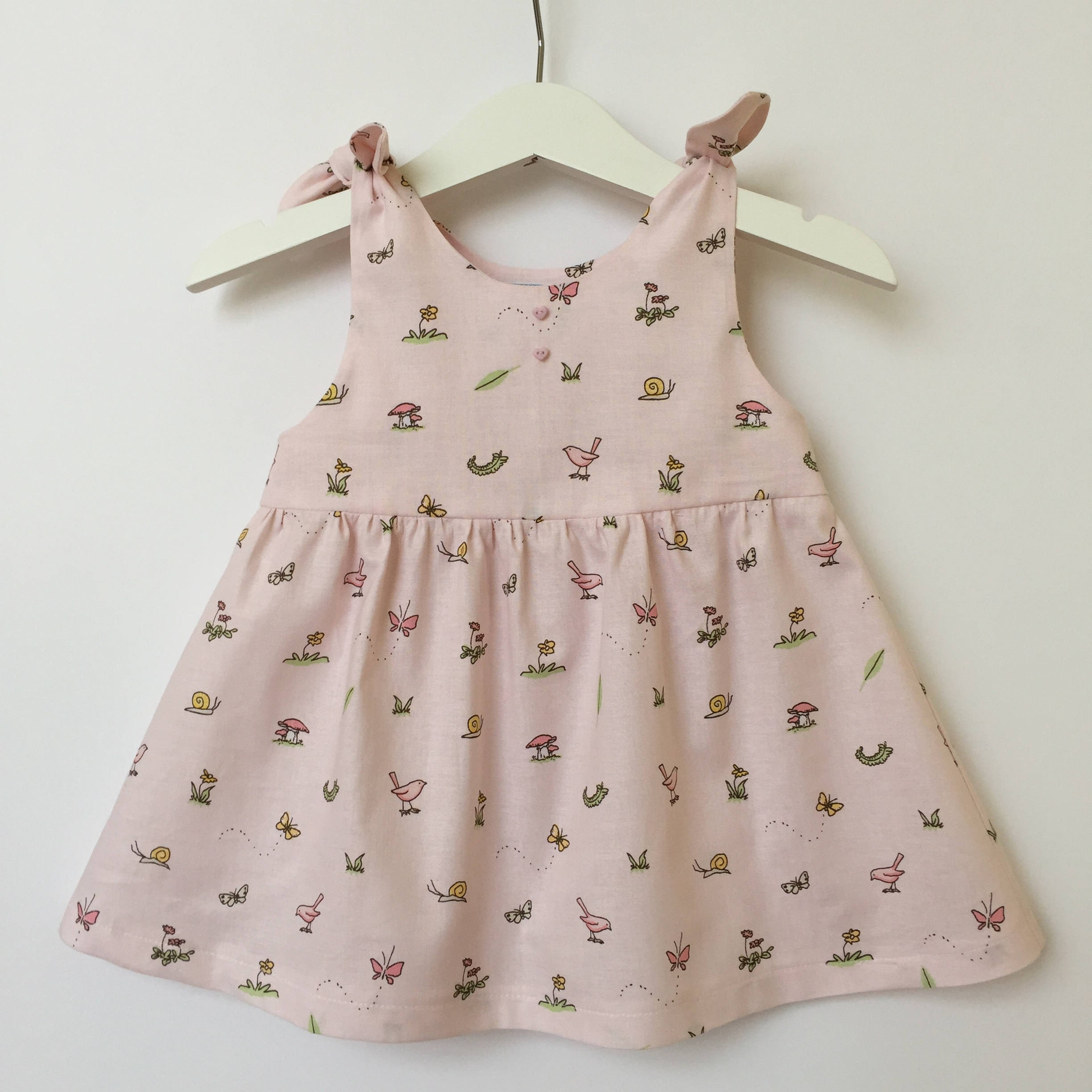 CUSTOM MADE Baby Girls Dress Baby Dress Cotton Dress