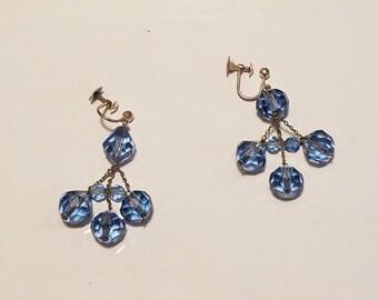 Vintage Pauly & C. Venezia Italian Glass Bead Earrings