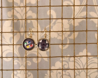 Video Game Nintendo Controller Earrings