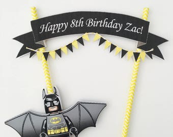 Lego Batman Cake Bunting