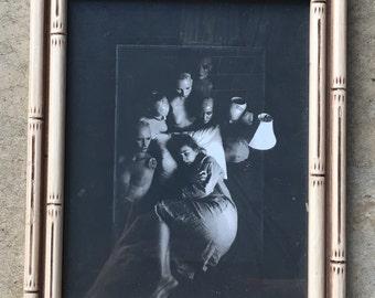 Nightmare! Custom framed 8x10 print