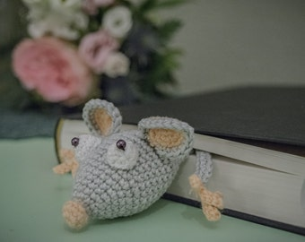Freddy the mouse, crochet, amigurumi