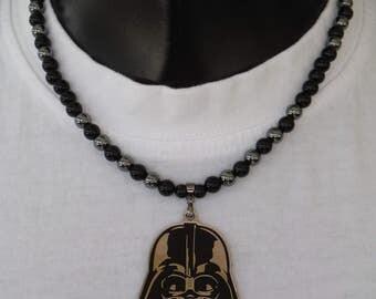 Darth Vader necklace