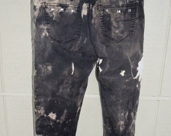 Hand bleached & studded pants.