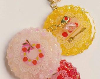 Yummi sweet dessert charms/keyholders