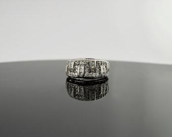 14k White Gold 1.5ct Diamond Ring (H color VS2)
