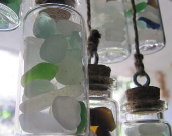 Hanging Sea Glass Suncatchers