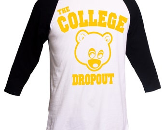 The College Dropout Shirt Kanye West T-Shirt Yeezus Tee IFLP I Feel Like Pablo Kanye West Merch College Dropout Hip Hop Shirt Music Shirt