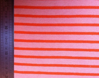 Coupon of Jersey fabric orange 87X120cm