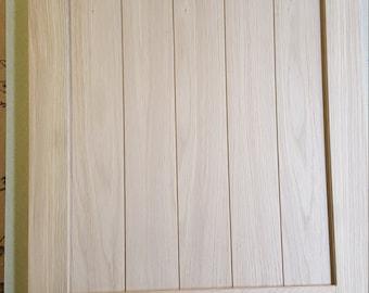 Solid Oak Shaker Style Bespoke Kitchen Door