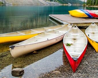 Moraine Lake Canada, Moraine Lake Photo, Moraine Lake Art, Moraine Lake, Photograph, Canada Art, Canada Décor, Canada Home Decor