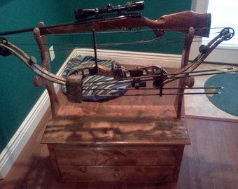 Custom gun and bow rack