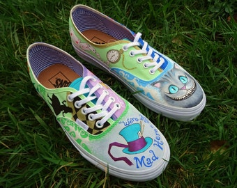 Alice in Wonderland, Alice in Wonderland, Cheshire VANS shoes