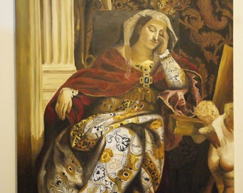 The Vision of St Helena for VERONESE by Maryam