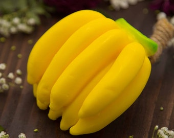 Banana Soap, Scented Soap, Fruit,