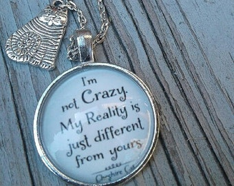 Cheshire Necklace with Charm