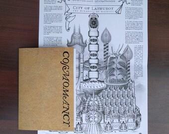 Cosmomancy Zine + Map of Lathurot