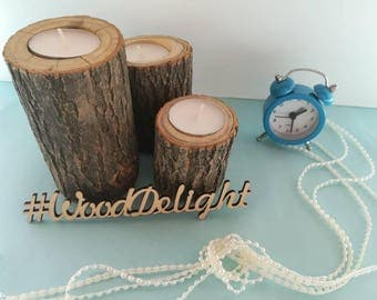 Wood candle holders wood Candlestick holder Rustic candle holders rustic Wooden candlesticks holders Wood candle holders wooden