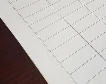 Easy Budget Sheet for beginner Budgeting