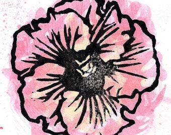 Hibiscus Print 01